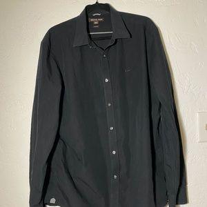 Michael Kors tailor fitted men's shirt, size XXL.